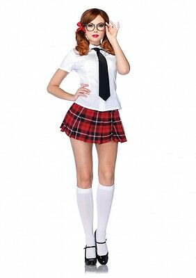 Sexy Private Naughty Roleplay School Girl Adult Outfit Adult Halloween Costume