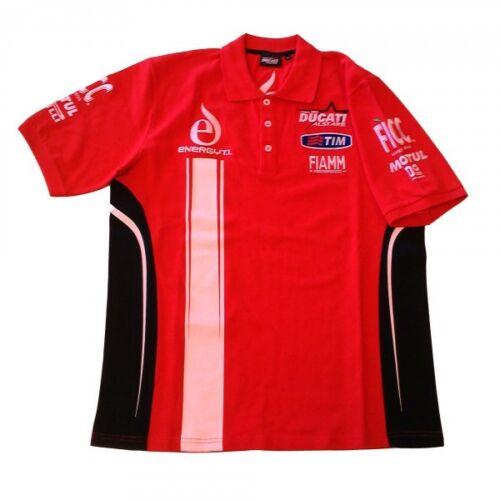 New Official Team Alstare Ducati Red Ducati Polo