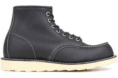 Red Wing Heritage Leather Classic 09075-0 New Mens Work 6 Inch Moc Toe Boot Shoe
