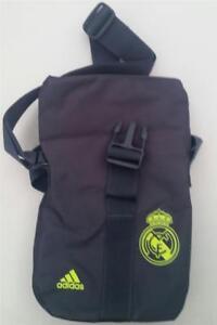 762e072fd La imagen se está cargando Real-Madrid-Adidas -Mini-Organizador-Correa-de-hombro-