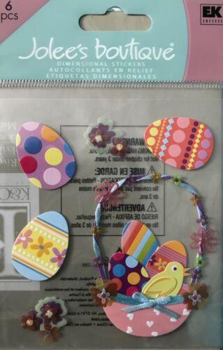 Jolee's Boutique Easter Basket Eggs Chicks Spring Scrapbooking Stickers