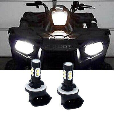881 COB LED Headlight Bulbs For Polaris Sportsman 800 850 Xplorer 400 400L