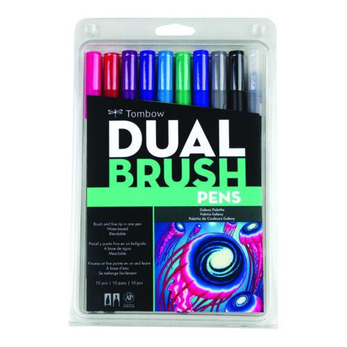 Tombow Dual Brush Pen Set 10 Galaxy