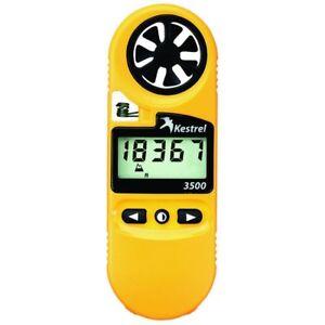 Kestrel 3500 (0835) Weather Meter/Digital Psychrometer, Yellow