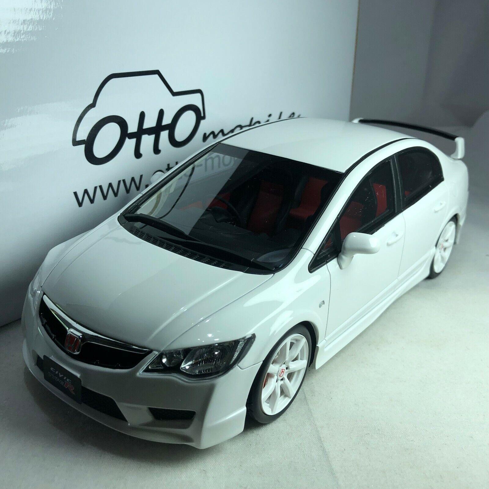 1 18 OTTO Honda Civic Type-R FD2 White OT304