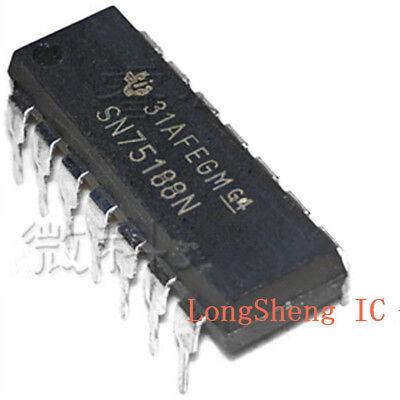 10PCS  SN75188N DIP-14 RS-232 Interface IC Quad Line Drive50