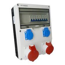Stromverteiler ECO-S 1x16A 1x32A 2x230 Baustromverteiler Wandverteiler 2619