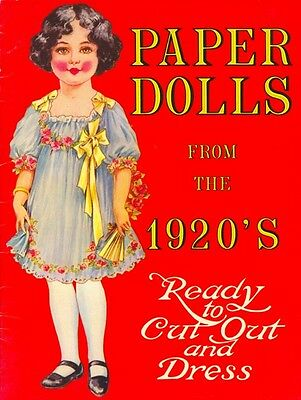 Paper Dolls From the 1920's Merrimack Company - Uncut