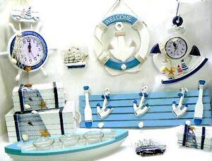 kit10 oggetti marini per la tua casa al mare o ristorante