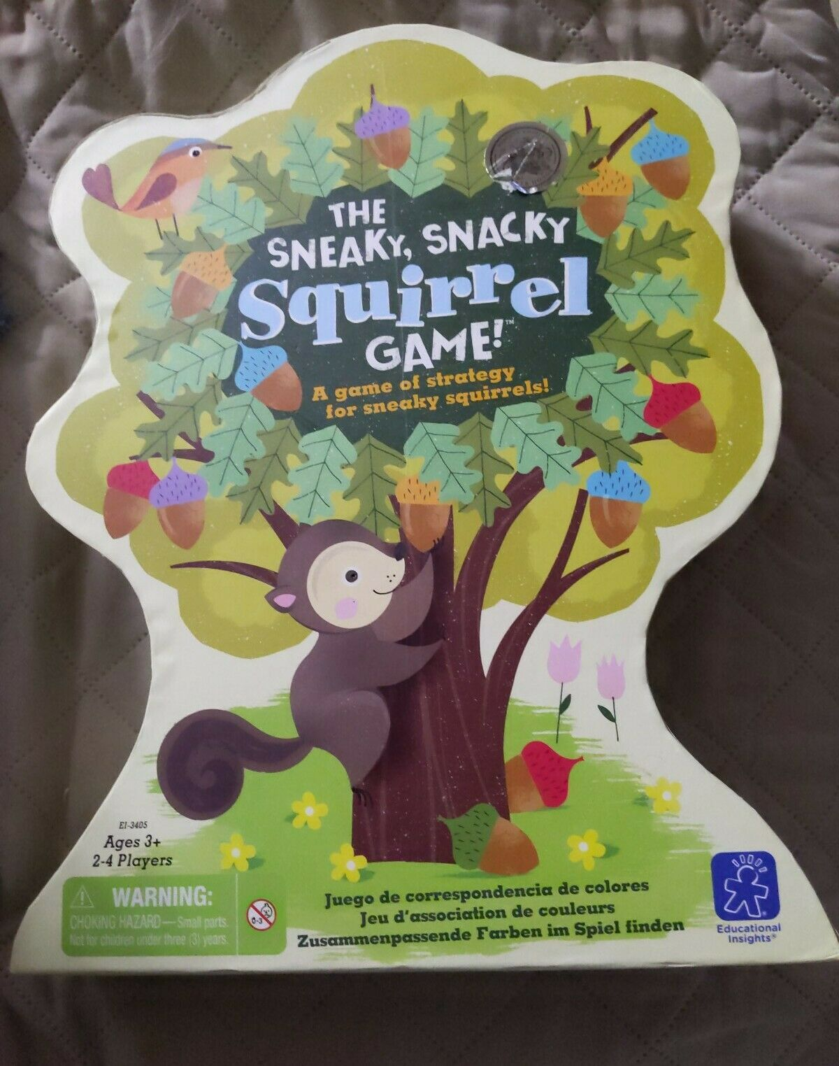 Educational Insights The Sneaky, Snacky Squirrel Game 100% complete 6