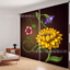 3D Flowers 643 Blockout Photo Curtain Printing Curtains Drapes Fabric Window AU