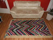 Designer  Teppich aus Marokko AZILAL  100% handgemacht 100% Lammwolle
