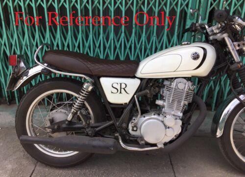 2014-2018 Yamaha SR400 low profile cafe racer seat saddle motorcycle CODE E9288