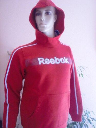 Reebok Hood Größe 176 neu rot  Kapuze Logo gestickt !!!
