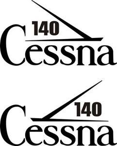 Cessna 140 Aircraft Logo Sticker//Decal!