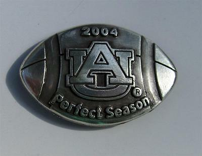 Auburn University 2004 Perfect Season Football Concho