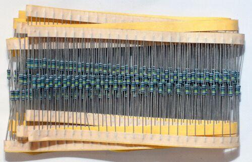15 x Metal Film Resistors 0.6W ±1/% 1M ohm - 2M7 ohm