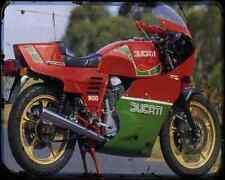Ducati 900 Mhr 83 1 A4 Metal Sign Motorbike Vintage Aged