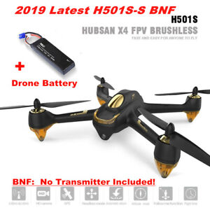 Hubsan H501S S X4 Pro Drone FPV Live Video Brushless...