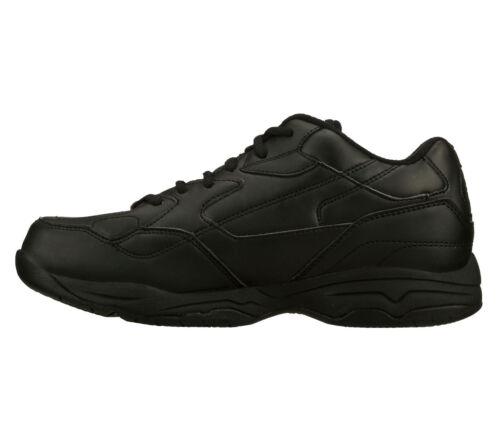 Skechers 76555 Ew Zapatos Ancho Viscoelástica Trabajo Mujer Negro Espuma wzPtzRqHx