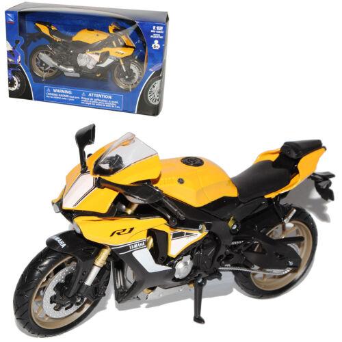 Yamaha YZF-R1 RN32 Gelb Schwarz Version Ab 2015 1//12 New Ray Modell Motorrad mit