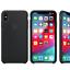 Genuino-Original-De-Silicona-Funda-Cubierta-para-Apple-iPhone-X-Xr-Xs-Max-7-8-6-6S-Plus miniatura 3
