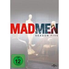 MAD MEN-SEASON 5 (ELISABETH MOSS/VINCENT KARTHEISER/JON HAMM) 4 DVD NEU