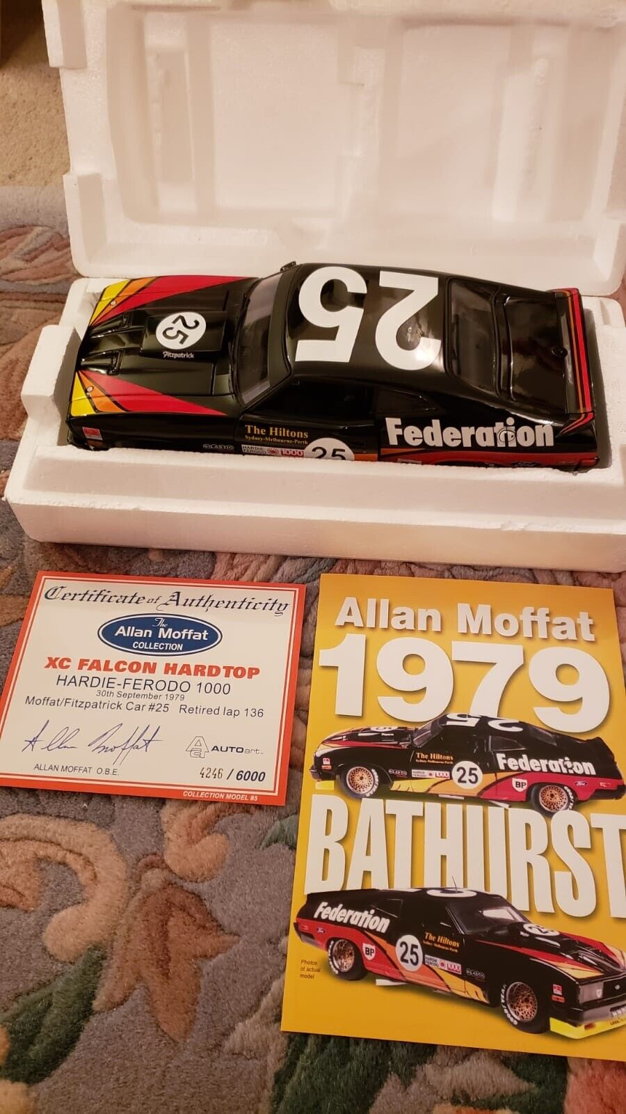 Biante 1 18 Ford XC Coupe Allan Moffat Bathurst 1979  25 Federation