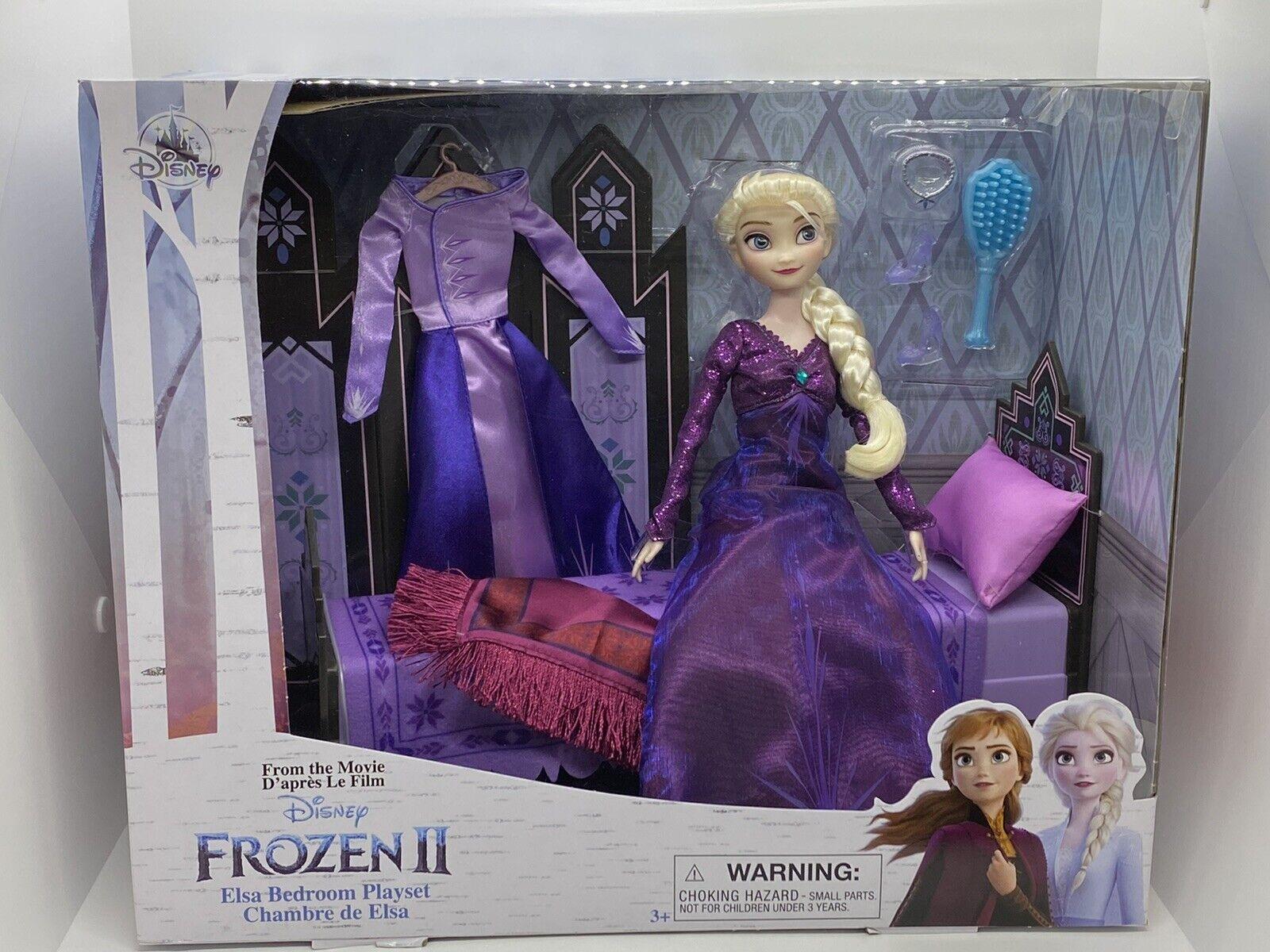 Disney Elsa Classic Doll Bedroom Play Set Frozen 2