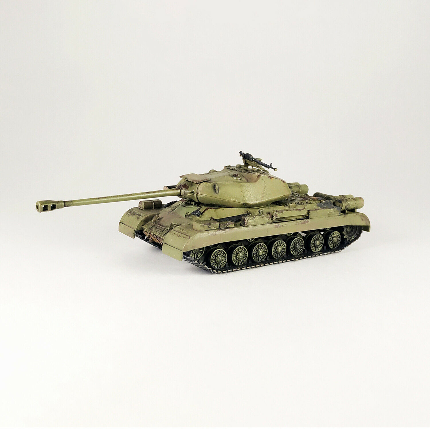 Collection Plastic Model of the USSR Tank IS-4 Scale 1 72. World of Tanks.