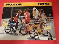 1980 HONDA EXPRESS MOTORCYCLE BROCHURE -NC50 EXPRESS-NA50 EXPRESS II-HONDA