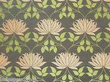 William Morris Curtain Fabric KELMSCOTT 9.5m Bullrush/Russet Weave Design 950cm