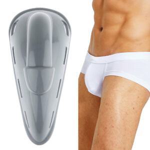 6004f178d4 Image is loading Men-Enlarge-Penis-Pouch-Protection-Pad-Underwear-Removable-
