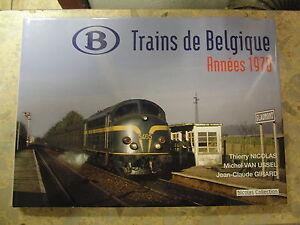 Trains-de-Belgique-annees-1970-Belgique-SNCB-Belgische-Eisenbahn-70er-Jahre