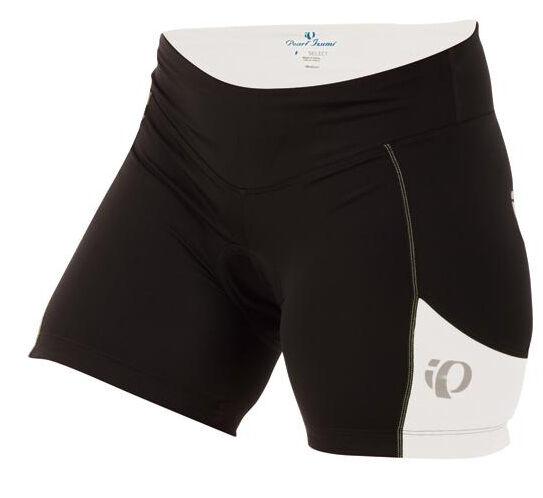 Pearl Izumi Damen Sugar Fahrrad Shorts Schwarz/Weiß - 2XL