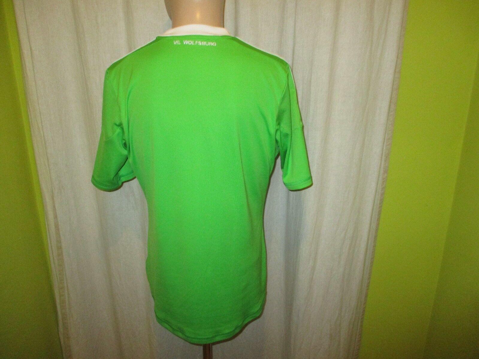 VfL Wolfsburg Wolfsburg Wolfsburg Original Adidas Heim Trikot 2012 13  VW  Gr.M TOP    Verschiedene Arten und Stile  92f056