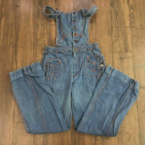 Vintage N'est Ce Pas Denim Overalls Jumpsuit Jeans