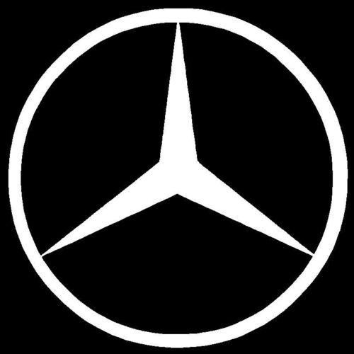 Mercedes-Benz Vinyl Decal Sticker JDM AMG Emblem Laptop