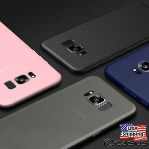 size 40 8fdbd 67bcf Details about THINNEST For Samsung Galaxy S9/S8+ Plus Note 9/8 Ultra Slim  Thin TPU Case Cover
