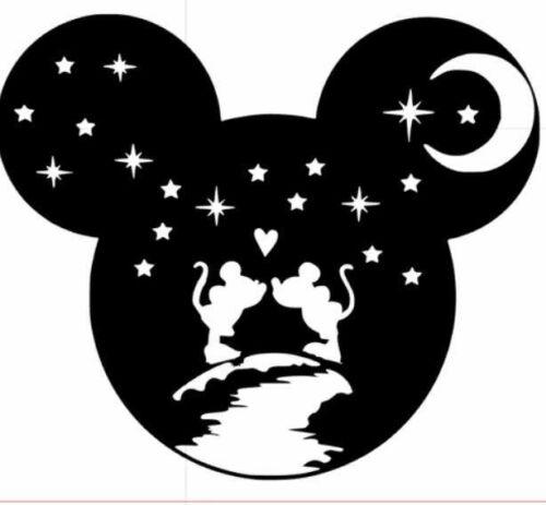 Mickey Mouse Walt Disney Wall Sticker citation le rire est intemporel Vinyle Art