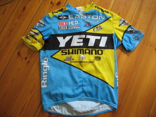 Yeti Cycles Team Trikot / Jersey Größe Medium, Aussie, Kurzarm Klassiker