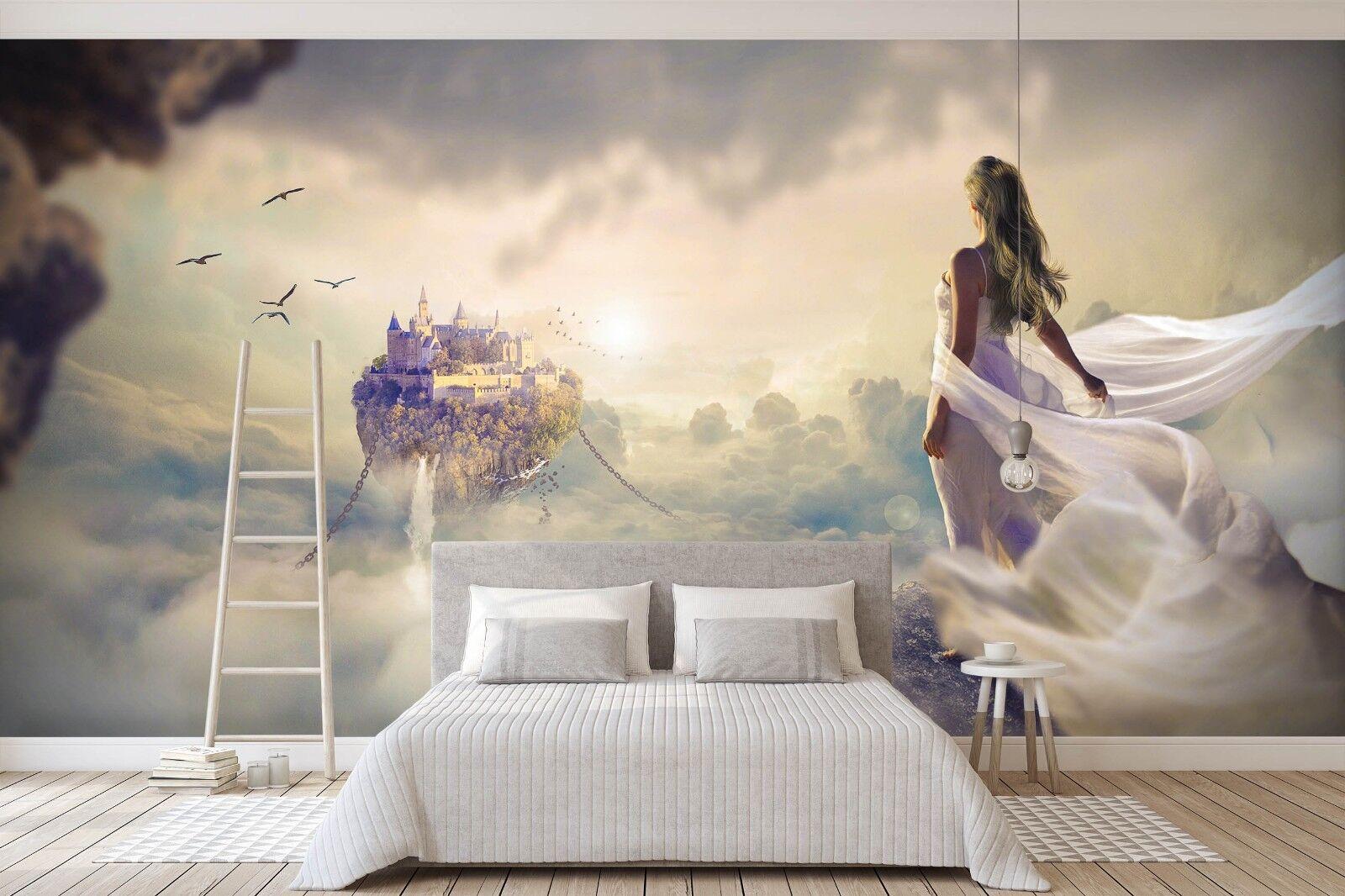3D Castle Beauty 978 Wall Paper Murals Wall Print Wall Wallpaper Mural AU Summer