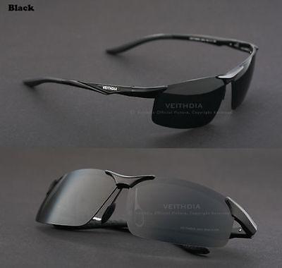 Veithdia Mens Aviator Aluminum Polarized UV400 Sunglasses Driving Sports Eyewear