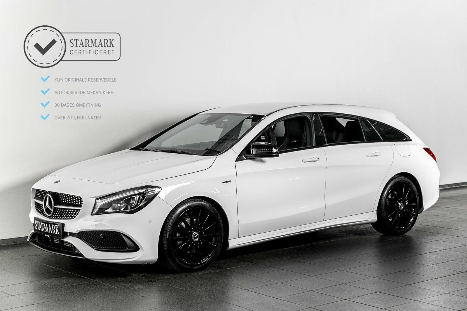 Mercedes CLA220 d 2,2 Final Edition SB aut. 5d - 414.900 kr.