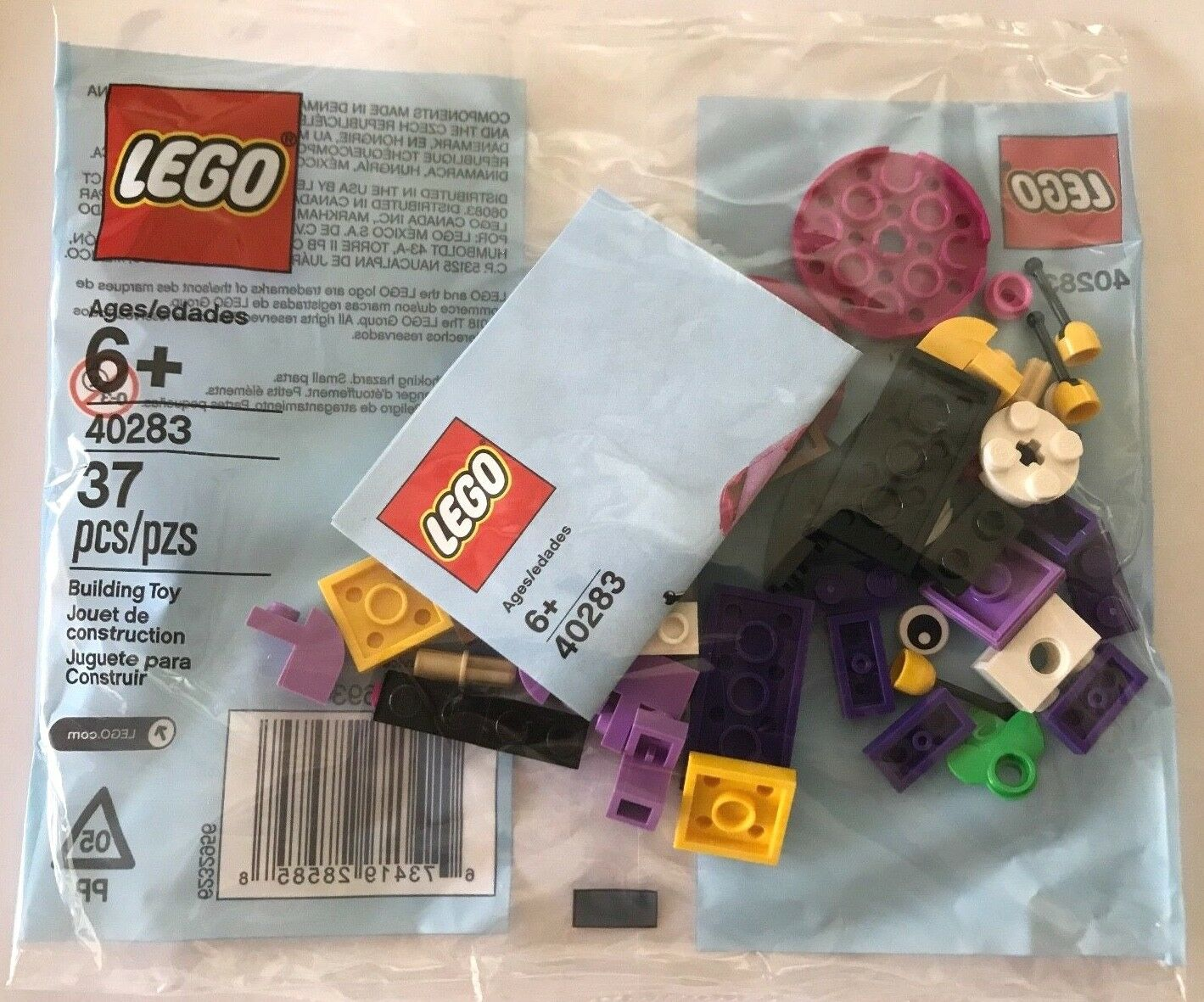 BRAND NEW LEGO 40283 Snail Monthly Mini Build 2 POLYBAGS