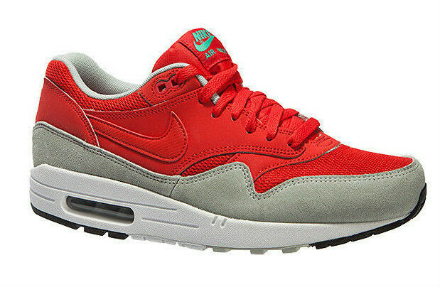 New   Nike Air Max 1 Essential Red Mens Trainers - 537383-600 (UK 6) New