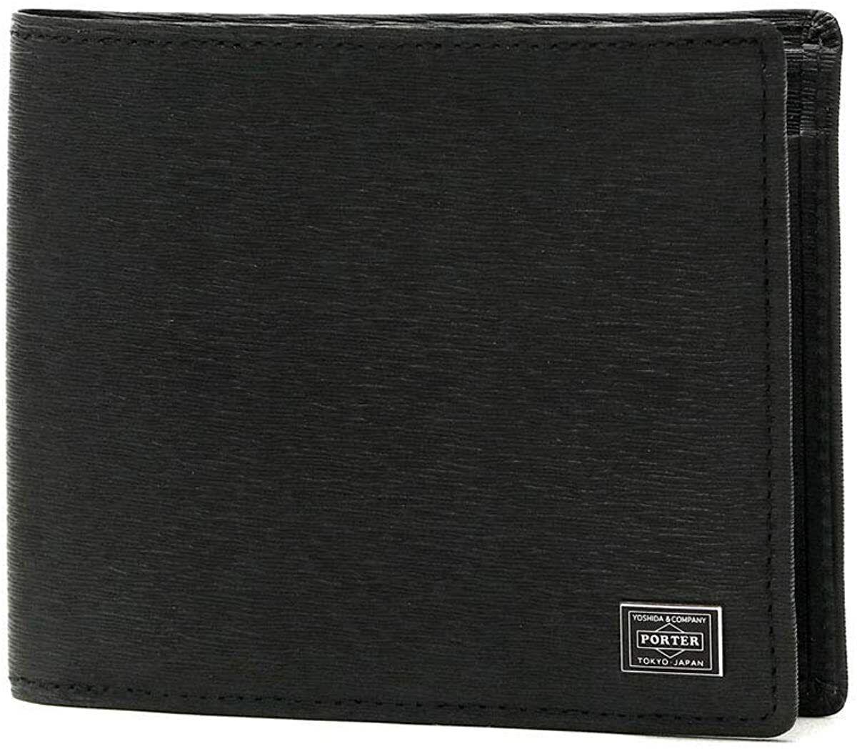 PORTER CURRENT Current Bi-Fold Wallet 052-02204 Black