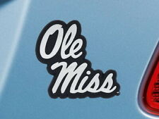 FANMATS University of Mississippi Ole Miss 3D Team Logo Decal