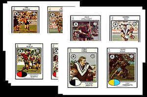 NRL-RUGBY-LEAGUE-1975-GUM-CARD-POSTCARD-SET-1