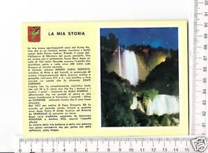 CARTOLINA TERNI CASCATA DELLE MARMORE NOTTURNO F6403